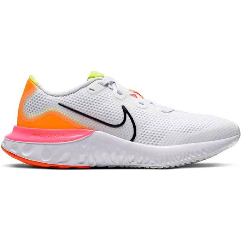 Nike Nike Renew Run Gs Blanco / naranja Walking