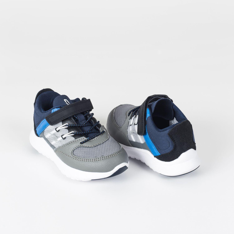 Colloky Zapatilla Cb 48870350 Velcro Gris / azul Zapatillas