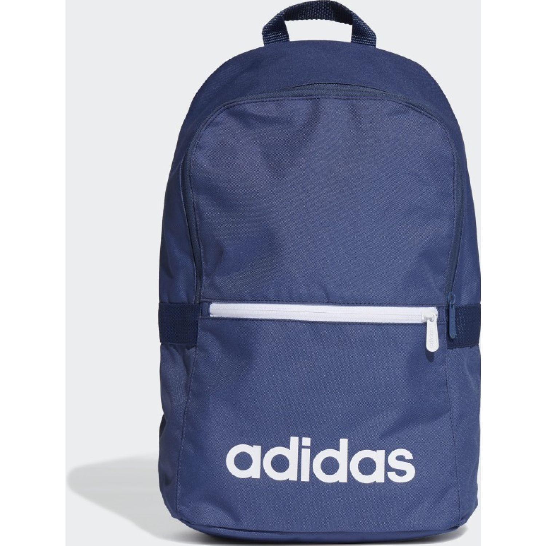 Adidas Lin Clas Bp Day INDIGO/BLANCO Mochilas multipropósitos