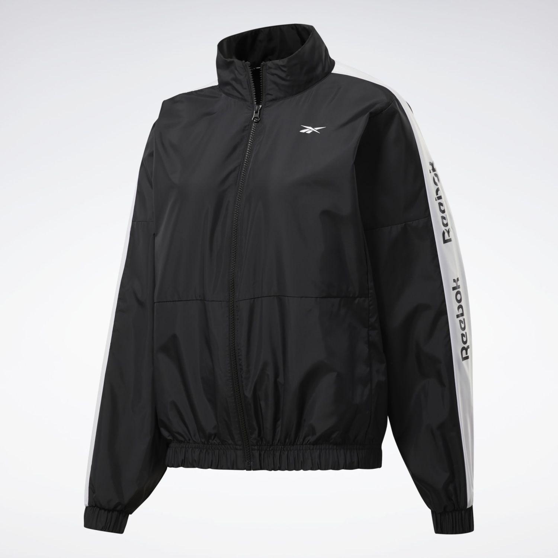Reebok TE Linear Logo Jacket Negro Casacas de Atletismo