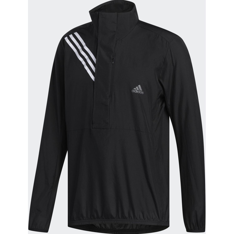 Adidas Own The Run Jkt Negro / blanco Casacas de Atletismo