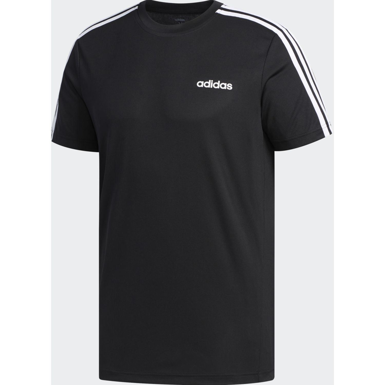Adidas M D2m 3s Tee Negro / blanco Hoodies Deportivos