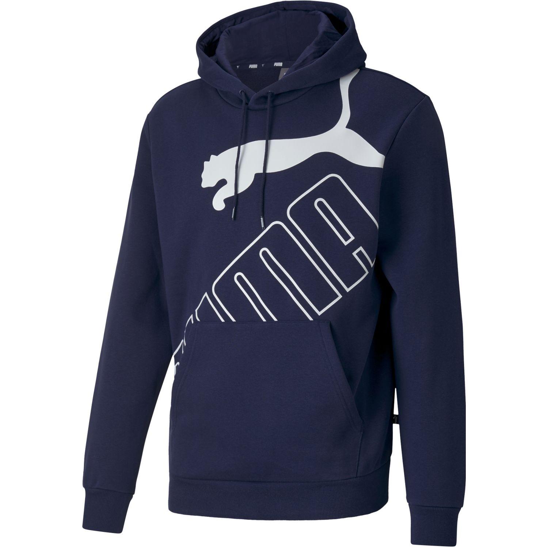 Puma Big Logo Hoodie Fl Azul Hoodies deportivos