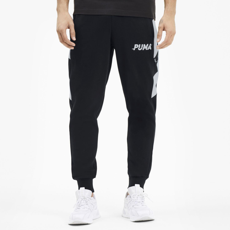 Puma MODERN SPORTS Pants FL cl Negro Pantalones Deportivos