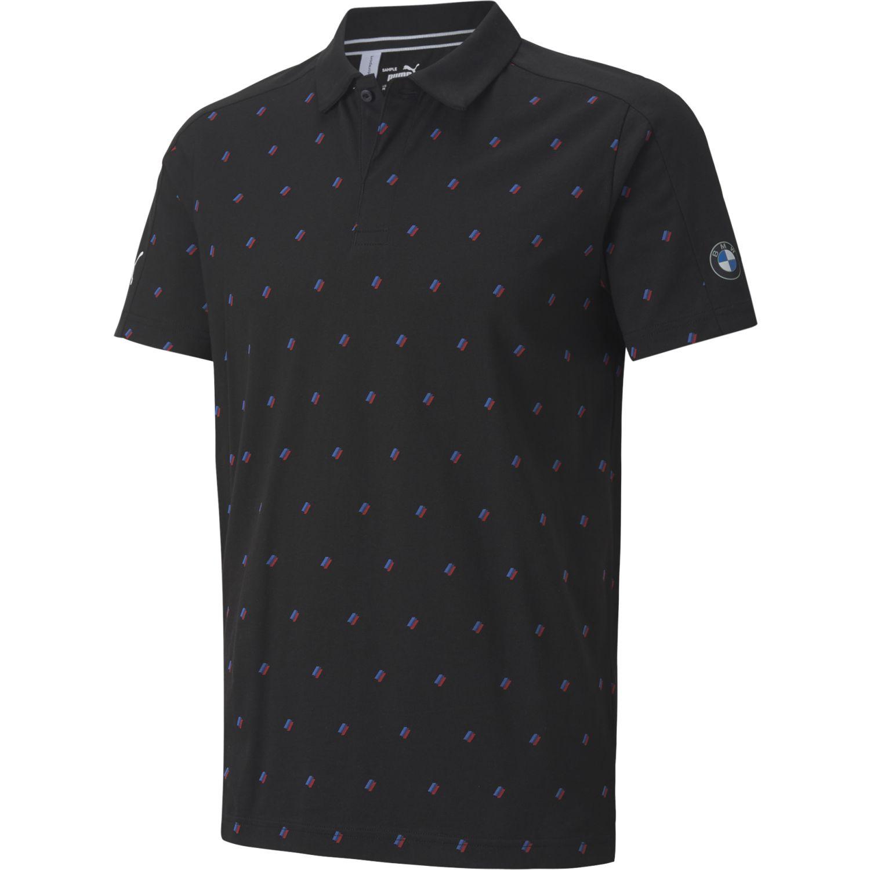 Puma Bmw Mms Aop Polo Negro Camisetas y polos deportivos