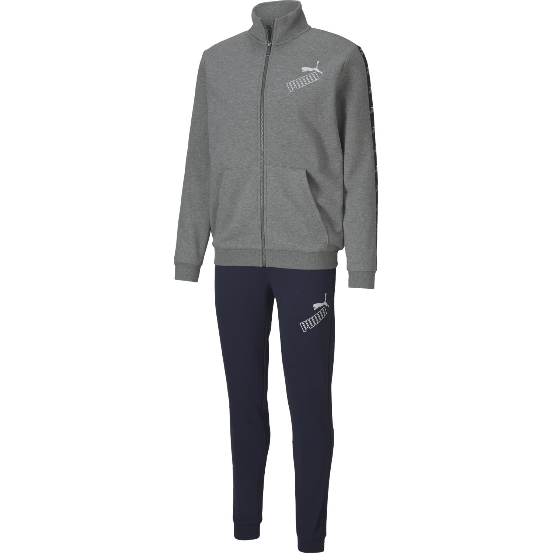 Puma Amplified Sweat Suit Gris Buzos deportivos