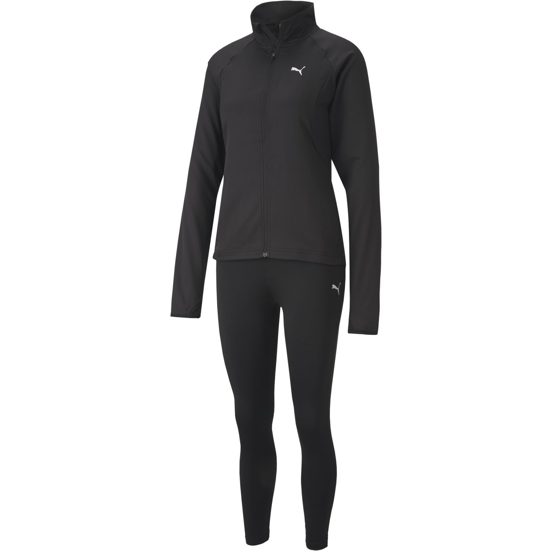 Puma Active Yogini Woven Suit Negro Buzos Deportivos