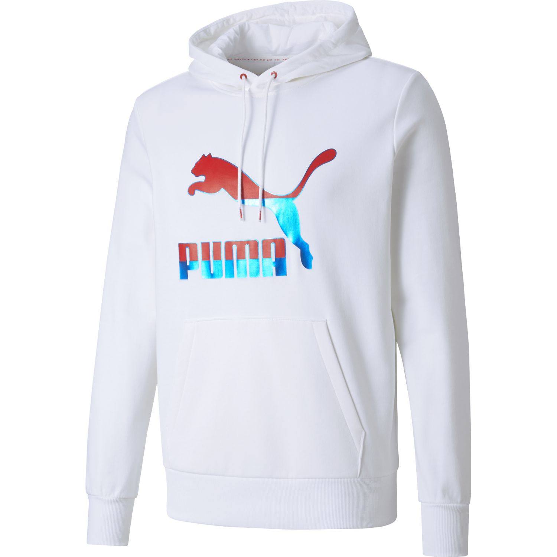 Puma Classics Logo Hoodie Blanco Hoodies Deportivos