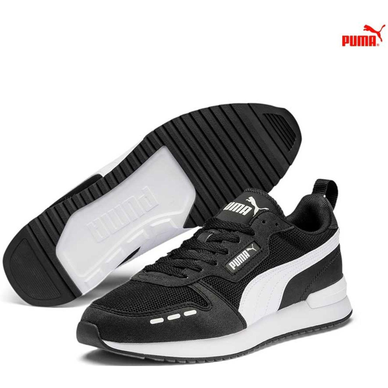 Puma Puma R78 Negro / blanco Walking