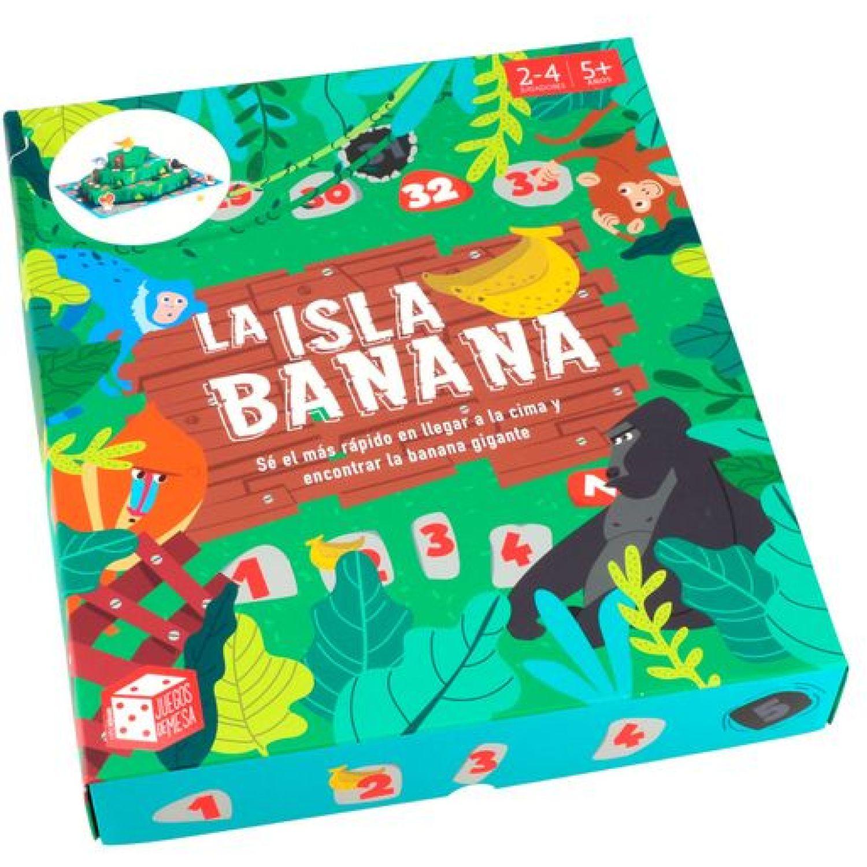 Casaideas Juego La Isla Banana MULTICOLOR Juegos de mesa