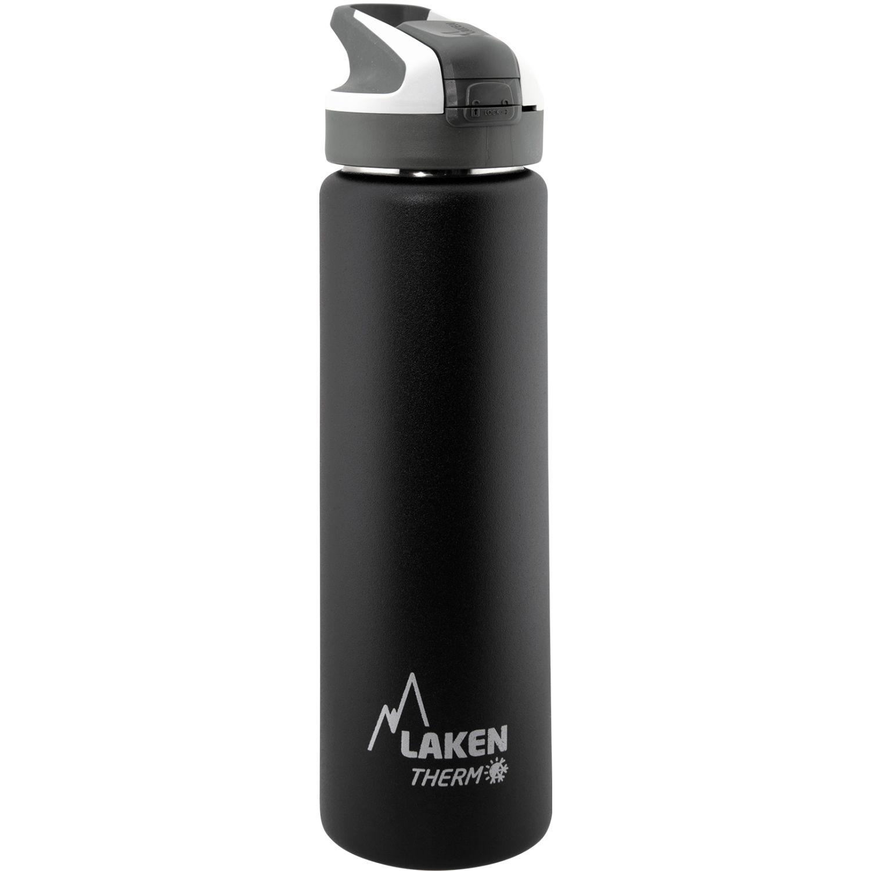 LAKEN Botella Termica T. Aut. Summit 0.75l Negro Botellas de agua