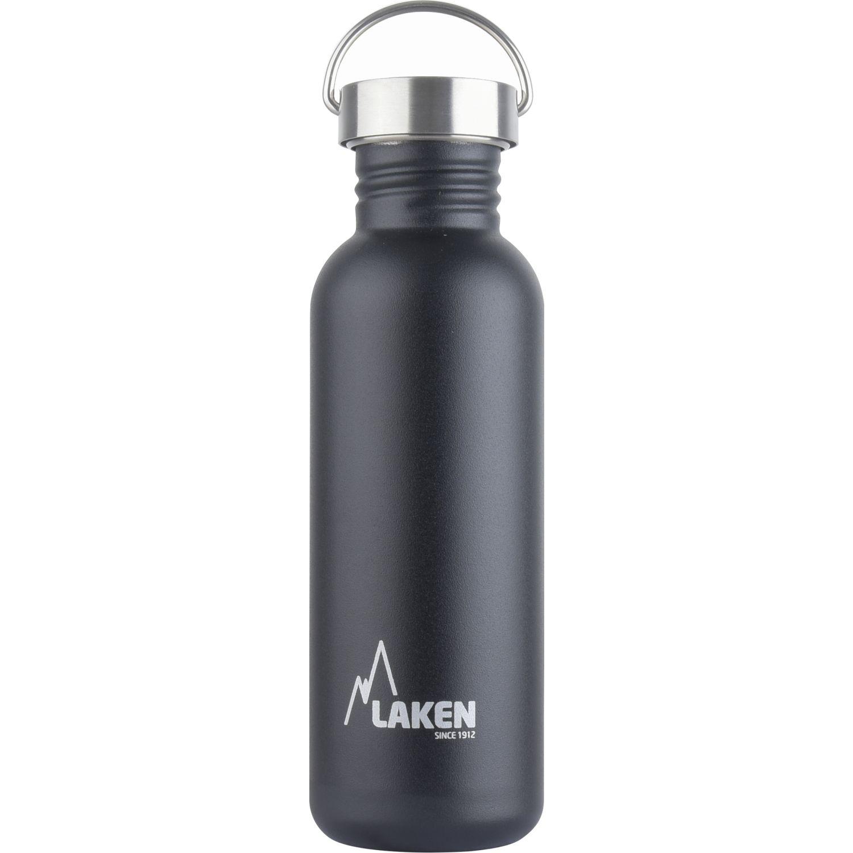 LAKEN Botella A.Inox. T.Vintage 0.75l Negro Botellas de agua