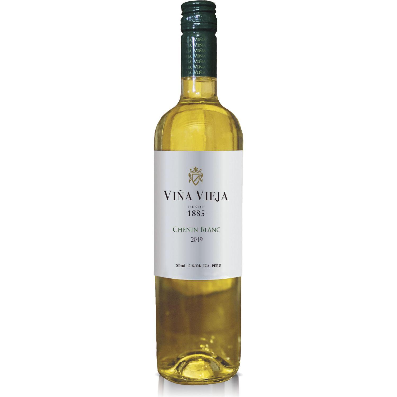 VIÑA VIEJA Vino Chenin Blanc Seco X 750ml Sin color Blanco