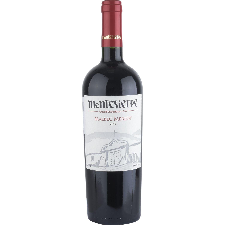 MONTESIERPE Vino Malbec - Merlot Sin color Vino Tinto