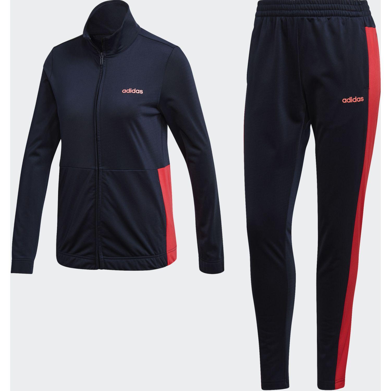 Adidas WTS Plain Tric Azul / rojo Buzos Deportivos
