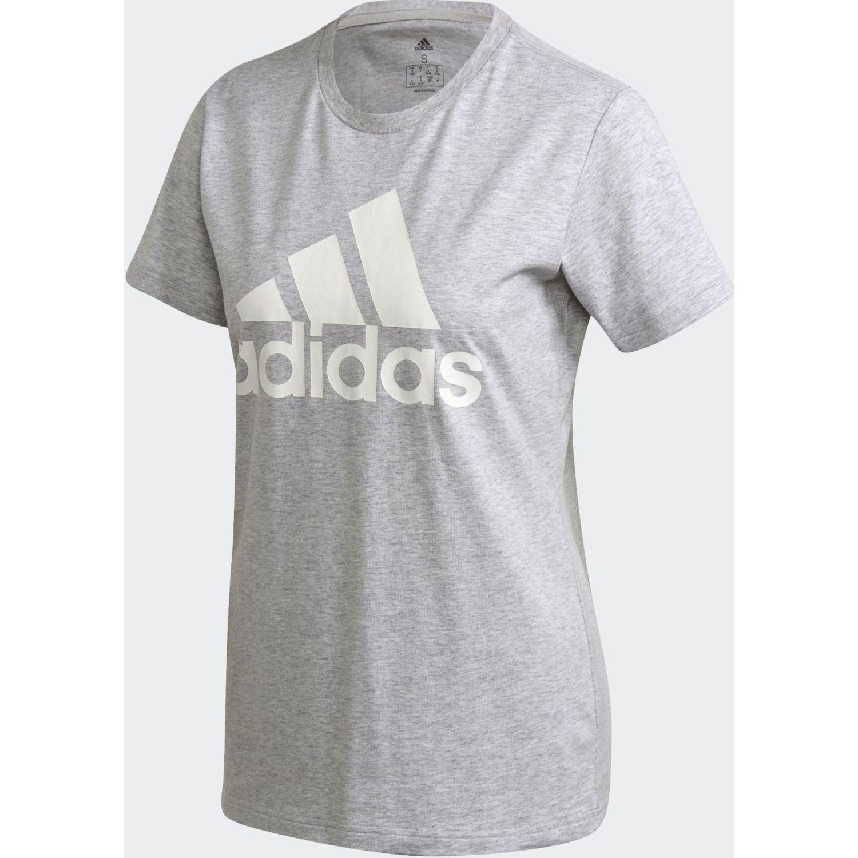 Adidas W Bos Co Tee Gris / blanco Polos