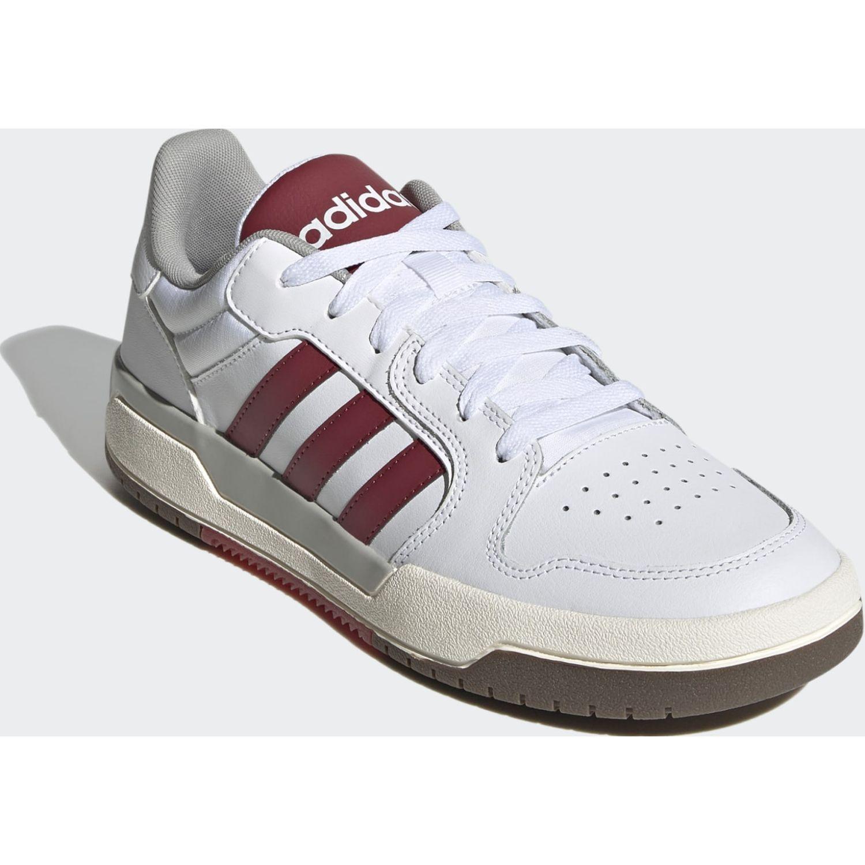 Adidas ENTRAP Blanco / vino Hombres