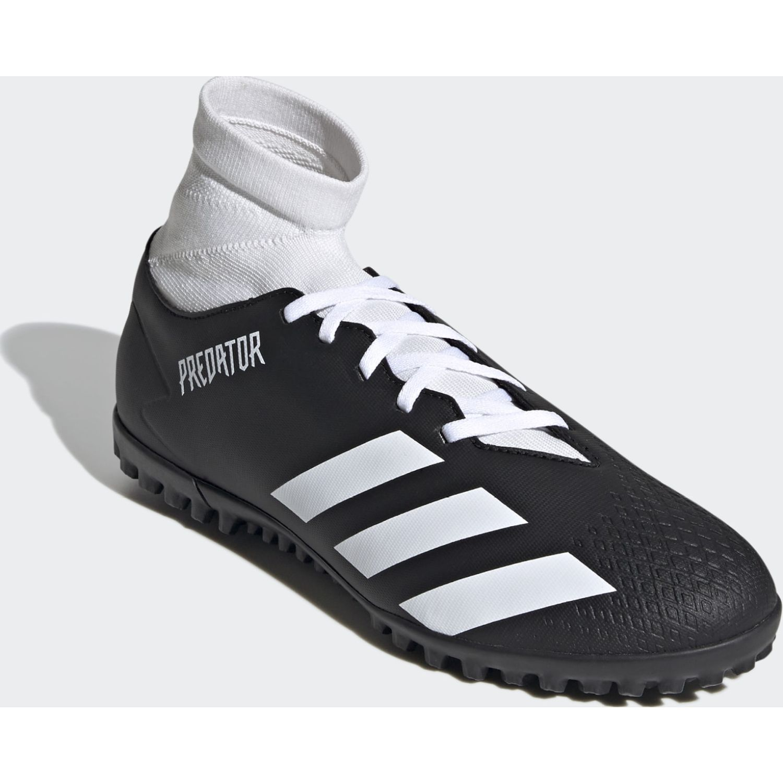 Adidas PREDATOR 20.4 S TF Negro / blanco Hombres