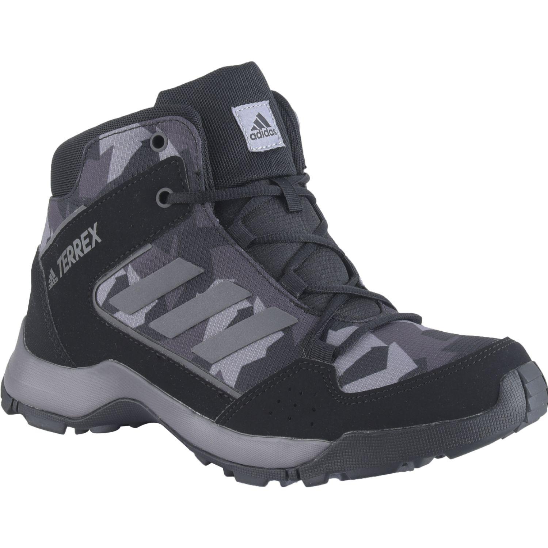 Adidas Terrex Hyperhiker K NEGRO / GRIS Zapatos de senderismo
