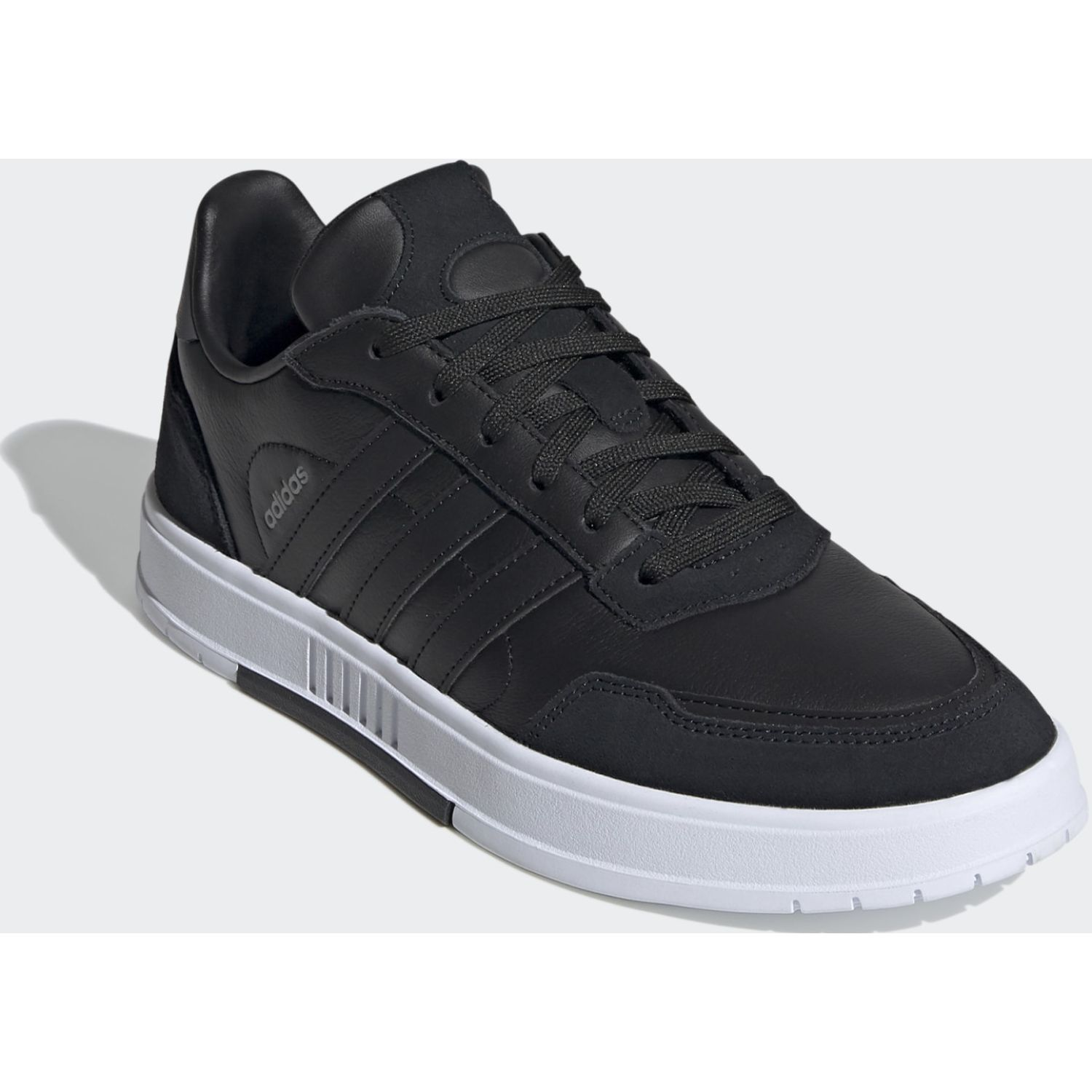 Adidas COURTMASTER Negro / blanco Walking