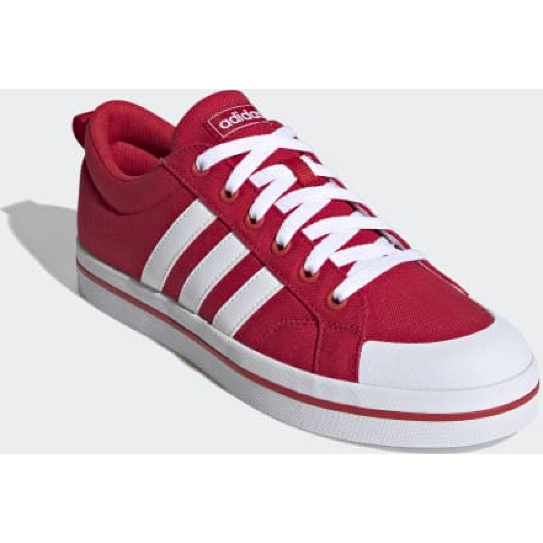 Adidas BRAVADA Rojo / blanco Walking