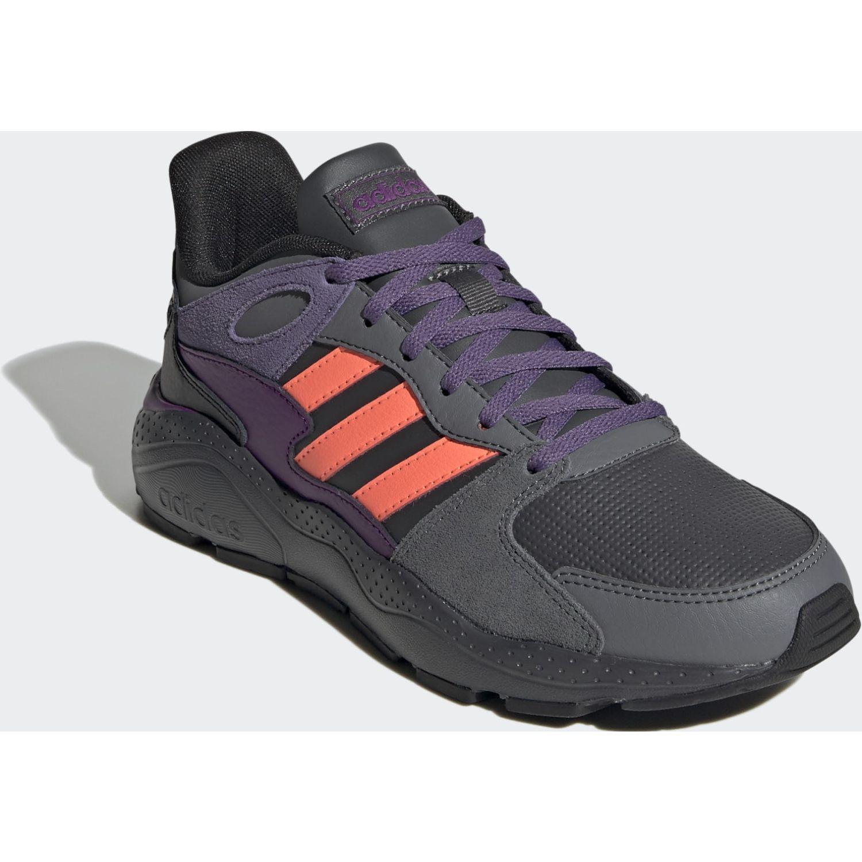 Adidas Crazychaos Negro / morado Running en pista