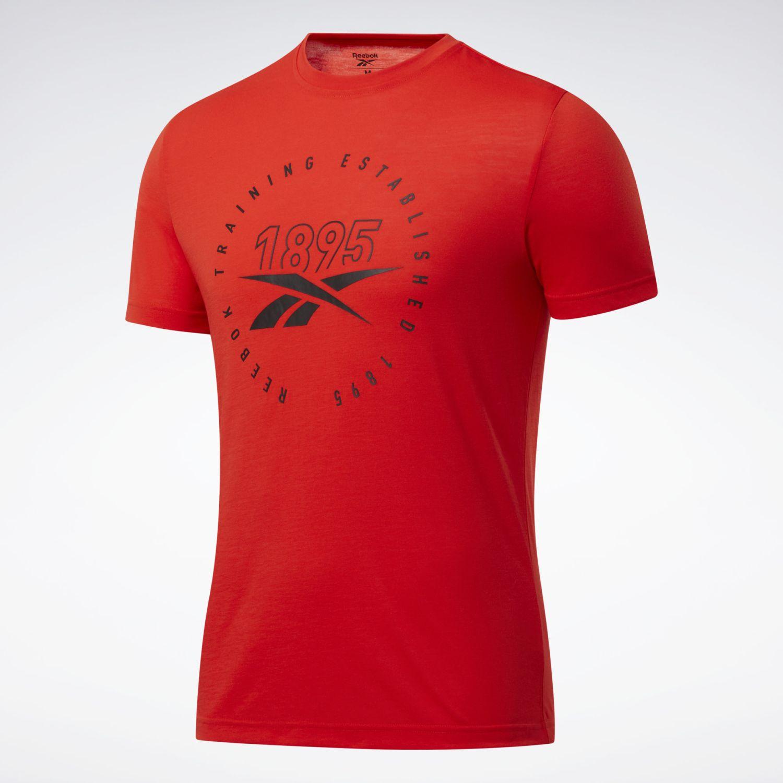 Reebok Gs Training Speedwick Tee Rojo Camisetas y polos deportivos