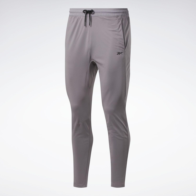 Reebok Wor Knit Pant Gris Pantalones Deportivos