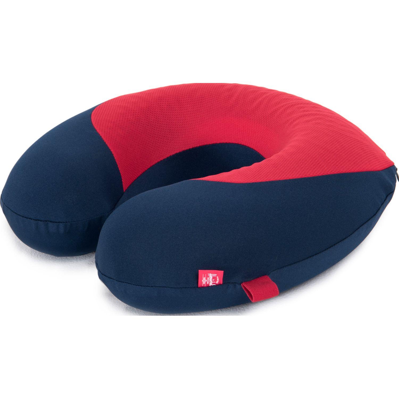 HERSCHEL Memory Foam Pillow Azul / rojo Cuello y cervicales almohadas