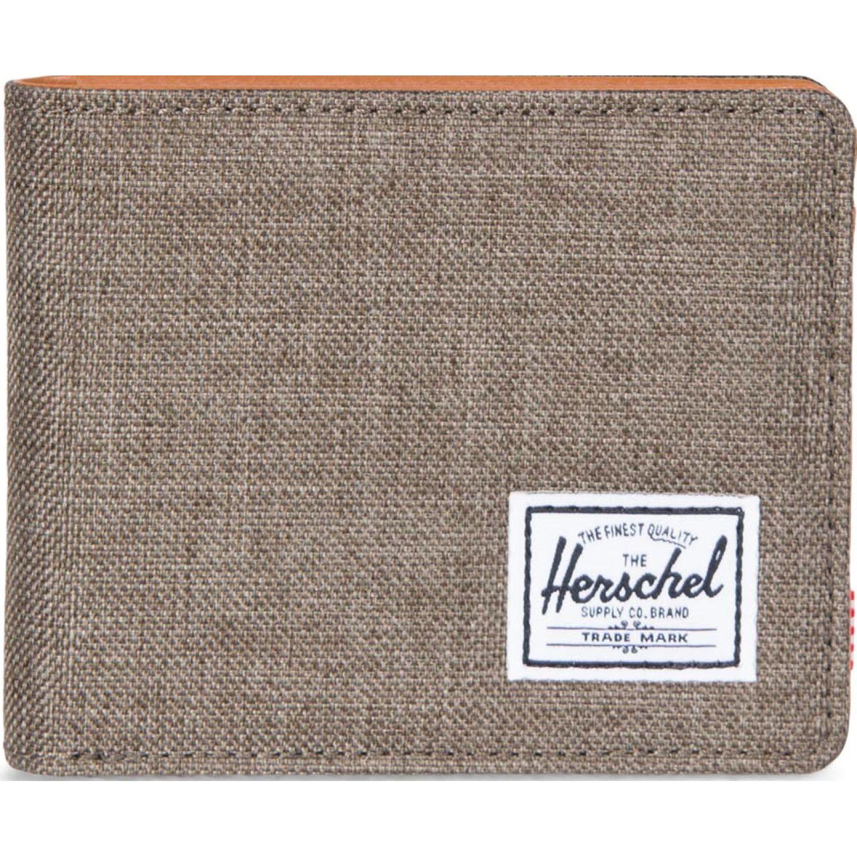 HERSCHEL Hank RFID Marron Billeteras