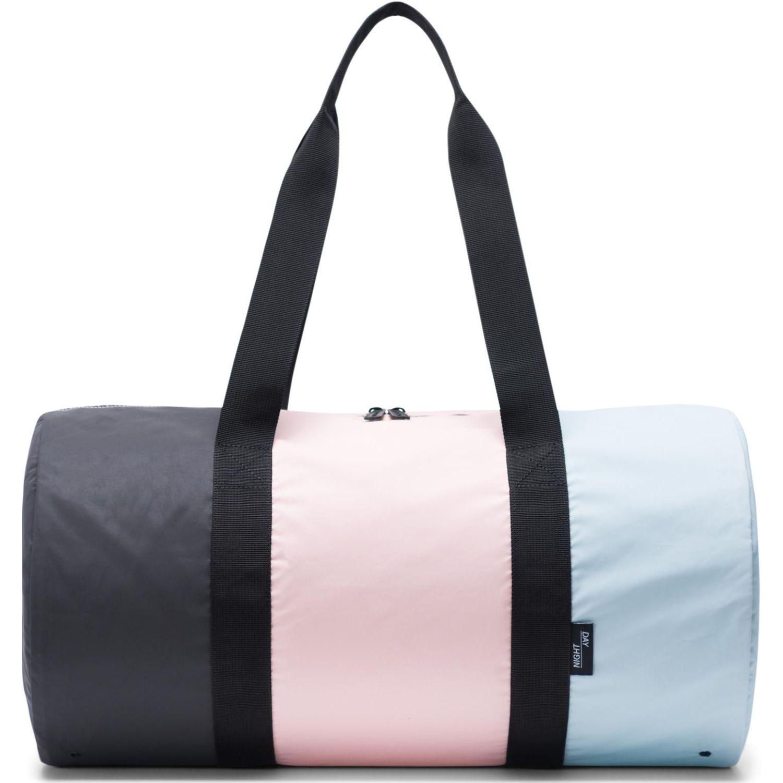 HERSCHEL Packable Duffle Celeste / rosado Bolsos tipo Mensajero