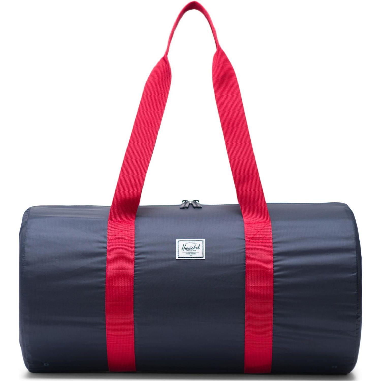 HERSCHEL Packable Duffle Azul / rojo Bolsos tipo Mensajero