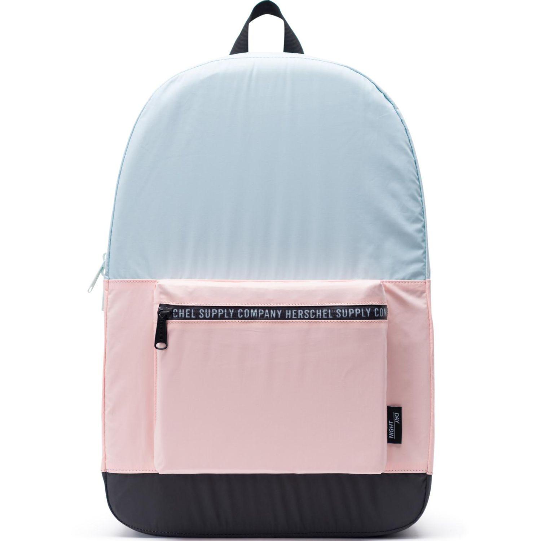HERSCHEL Packable Daypack Celeste / rosado Mochilas