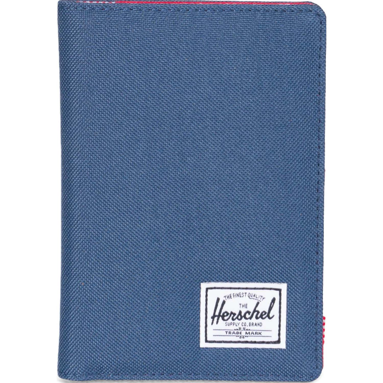HERSCHEL Raynor Passport Holder RFID Azul / rojo Porta DocuHombretos