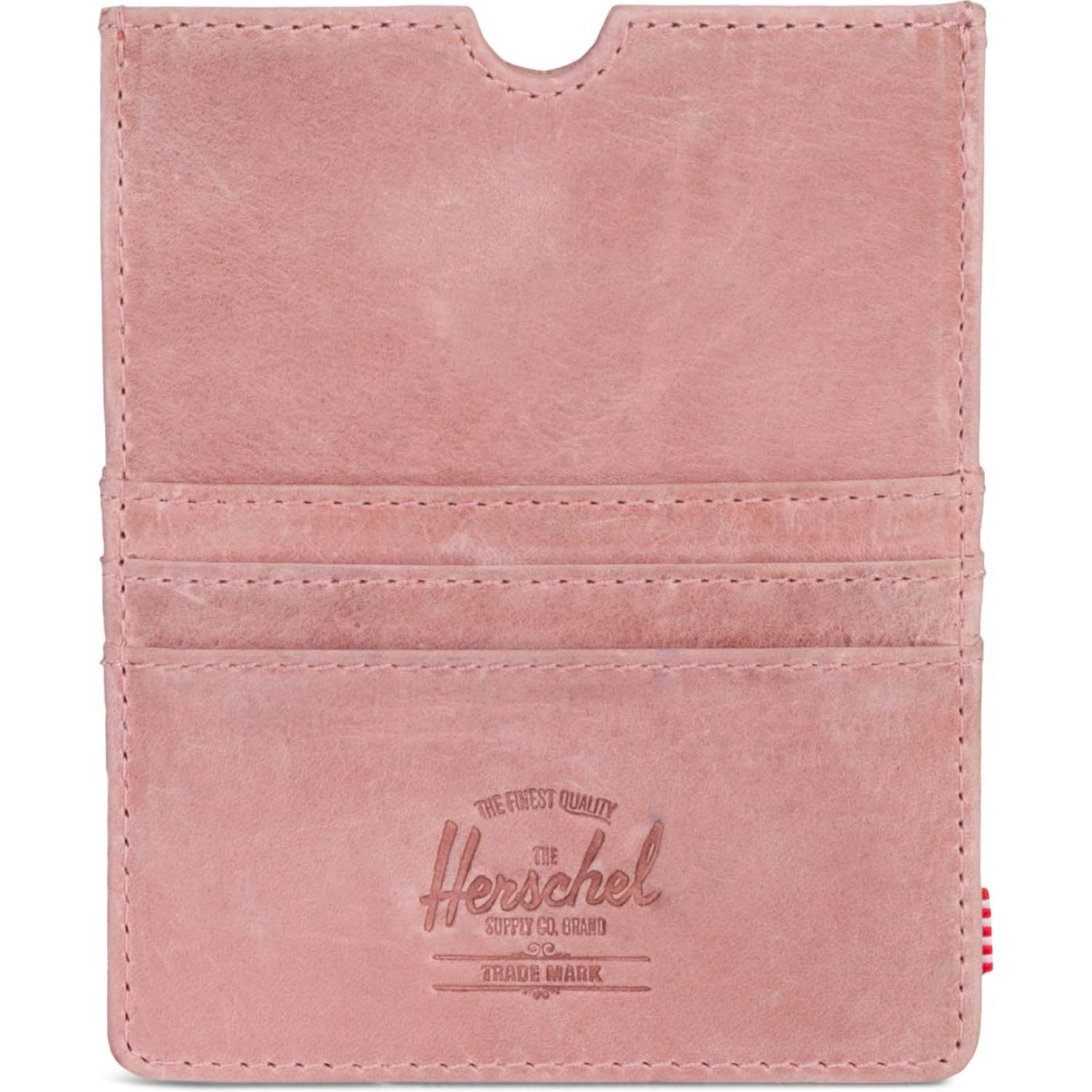 HERSCHEL Eugene Leather Rfid Rosado Porta DocuHombretos