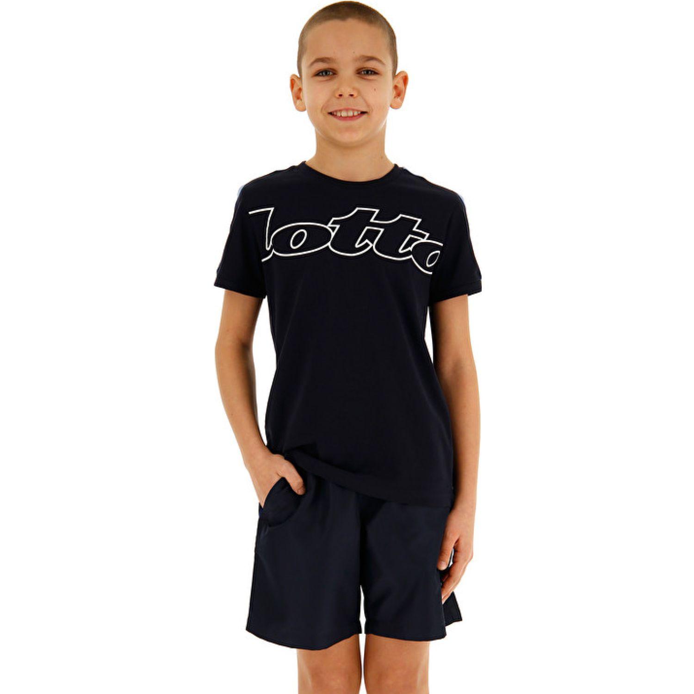 Lotto Dreams B Ii Tee Js Negro Camisetas y Polos Deportivos
