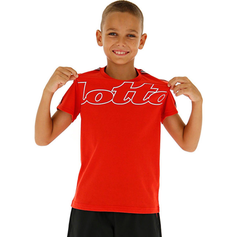 Lotto Dreams B Ii Tee Js Rojo Camisetas y Polos Deportivos