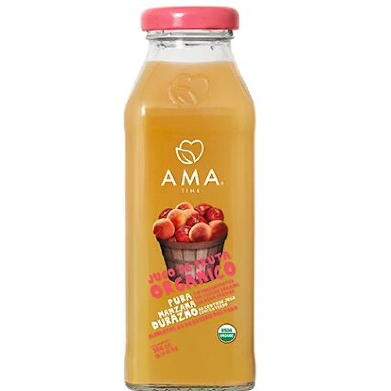 Ama Time Jugo Orgánico Durazno X 300ml Sin color Zumo de frutas