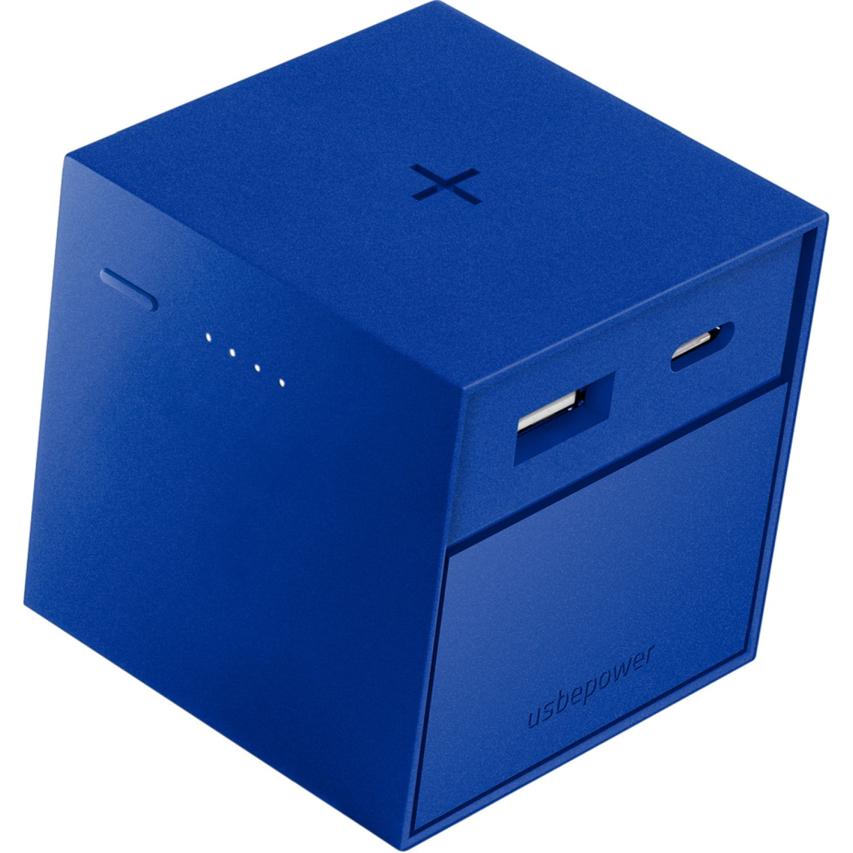 USBEPOWER Cargador Inalámbrico 3.000 Mah Cubo Azul / negro Los bancos de energía portátil