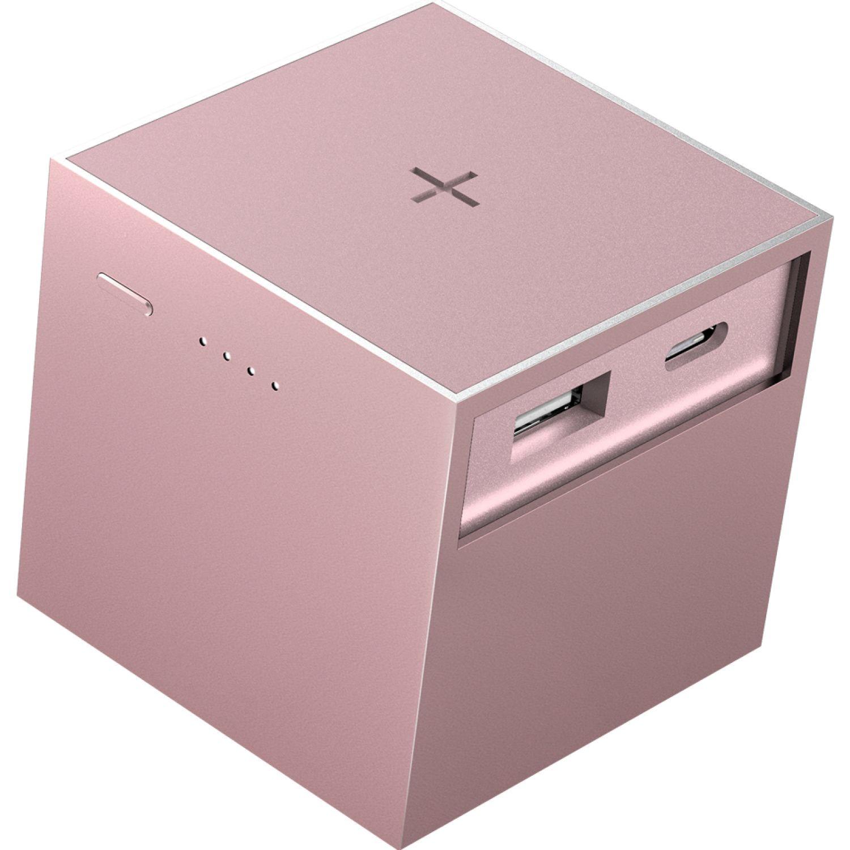USBEPOWER Cargador Inalámbrico 3.000 Mah Cubo Oro rosa Paquetes de baterías externas