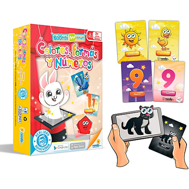 RONDA Boongi App-Rende Colores, Formas Y Números MULTICOLOR Juegos de mesa