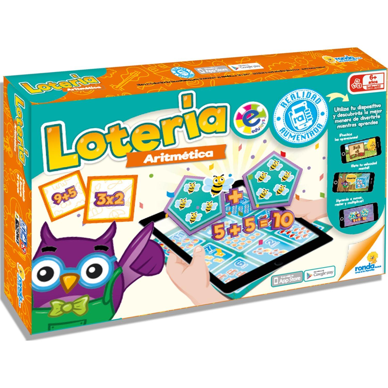 RONDA Loteria Aritmetica MULTICOLOR Juegos de mesa