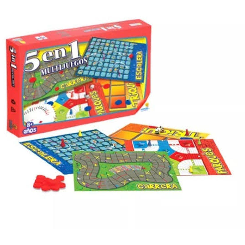 RONDA Multijuegos 5 En 1 MULTICOLOR Juegos de mesa
