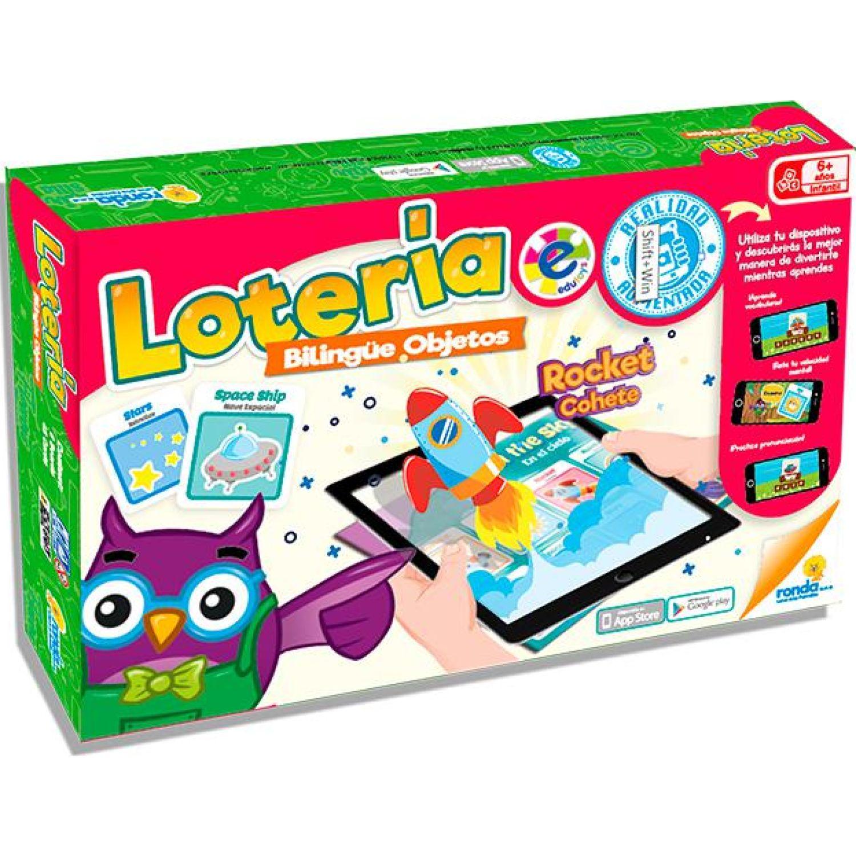 RONDA Loteria Bilingue Objetos MULTICOLOR Juegos de mesa