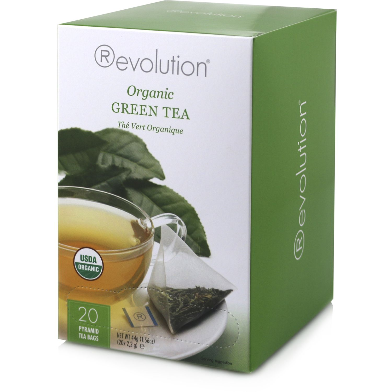 REVOLUTION Té Verde Organico X20un Sin color Té