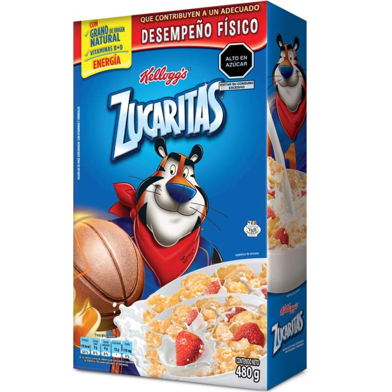 KELLOGS Zucaritas 480g Sin color Desayuno y Barras de Cereales