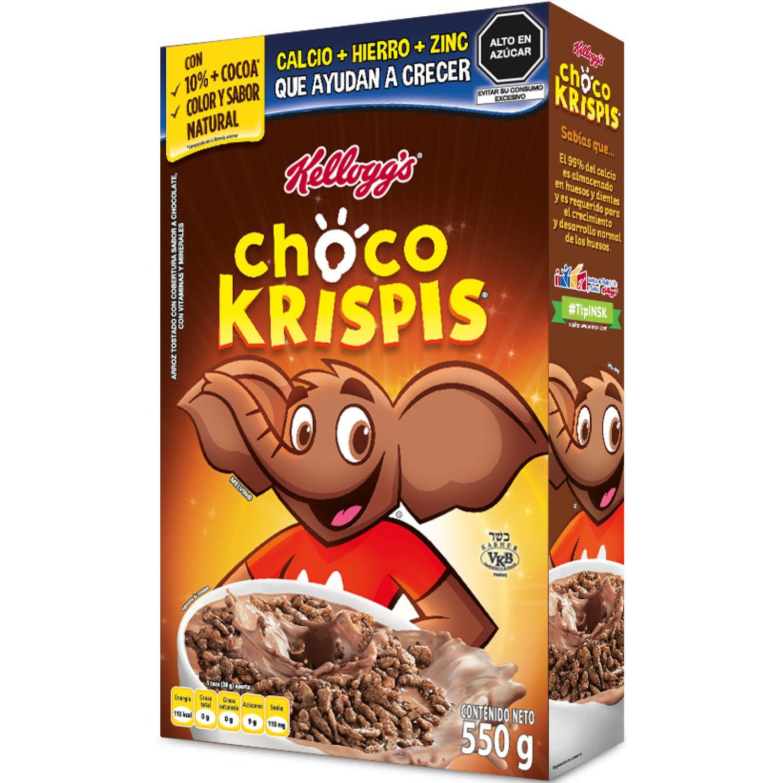 KELLOGS Choco Krispis 550g Sin color Desayuno y barras de cereales