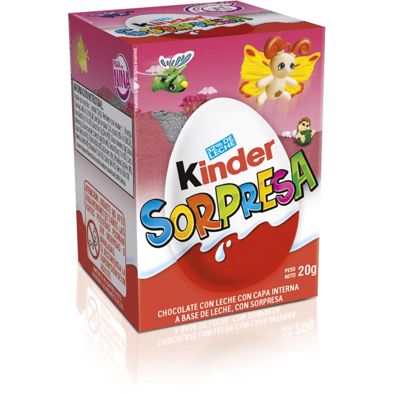 KINDER Kinder Sorpresa Niña Sin color Surtidos de dulces y chocolate
