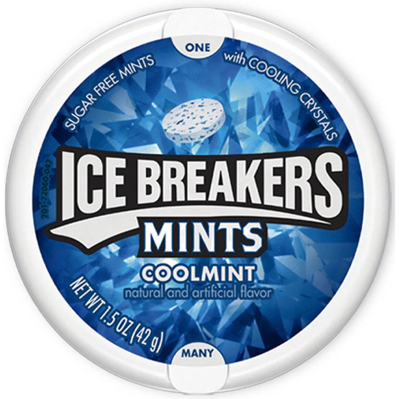 HERSHEY'S Ice Breakers Menta Fría S/Azúcar 42gr Sin color Mentas