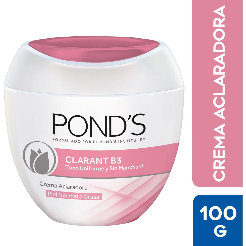 PONDS Crema Humectante Clarant B3 Piel Grasa 100g Sin color Hidratantes Faciales
